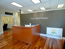 Cook Real Estate office
